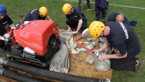 Kismotorfecskendő-szerelésben az újbudai tűzoltók a legjobbak